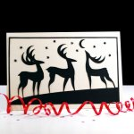 Tutorial | Paper Cut Christmas Card
