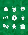 Freebie | Christmas Icon Set