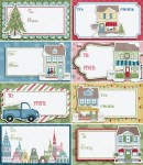 Freebie | City Sidewalks Gift Tags