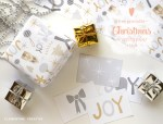 Freebie   Printable Christmas Wrapping Paper & Tags