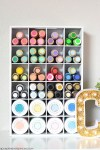 Show & Tell | Craft Supplies Cubby Organizer