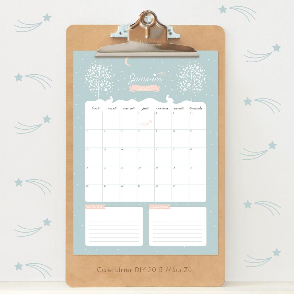 Calendar Zu : More free printable calendars scrap booking