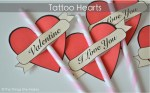 Freebie | Tattoo Hearts
