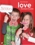 5 Photo Booth Ideas for Valentine's Day | Free Printables