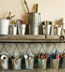 28 Quick & Clever Ideas for Organizing Craft Supplies