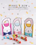 Freebie | Bunny & Bow Printable Goodie Bags