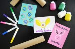 Tutorial   Cute Stamped Easter Cards