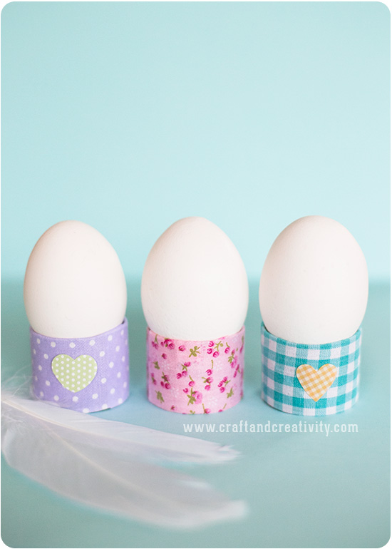 DIY toilet roll egg holders