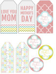 Freebie | Printable Mother's Day Gift Tags