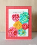 Tutorial | Watercolor Scribble Flowers Card | Mother's Day