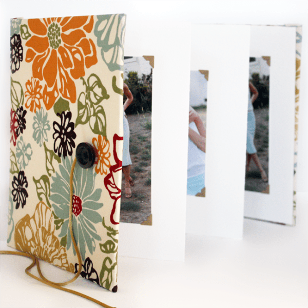 DIY Accordion Photo Book by Kristi Murphy