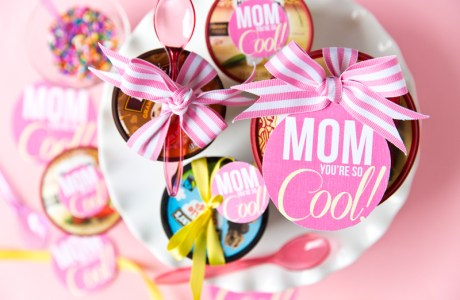 "Mother's Day ""You're So Cool"" Ice Cream Gift"