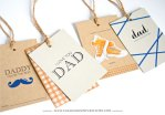 Freebie & Tutorial | Father's Day Tag-alongs