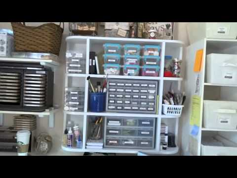 Craft Room Organization - Annette Green