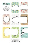 Freebie | Speech Bubble Journal Cards