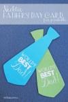 Freebie | Cute Necktie Father's Day Card!
