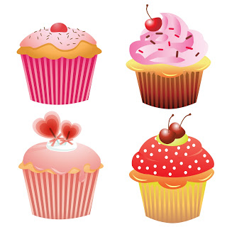 free_cupcakes_clipart