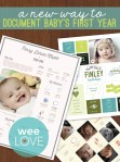 Scrapbooking Baby | A One-Pager of Year One