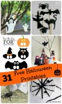 31 Free Printable Halloween Activities to do with Kids