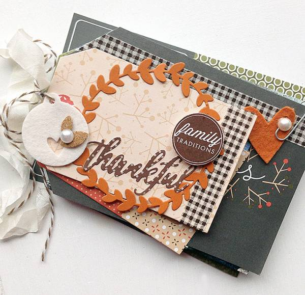 Thankful Tag Mini Album by Danielle Flanders
