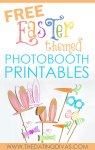 Free Easter-Themed Photo Booth Printables