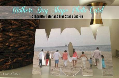 "Mother's Day ""MOM"" Card 