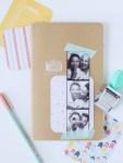 DIY Photobooth Strip Scrapbook