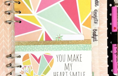 DIY Double Pocket Page for Scrapbooks & Planners