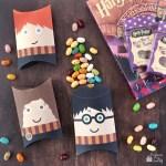 Freebie | Harry Potter Pillow Boxes