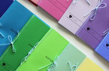 DIY | Printable Rainbow Notebooks