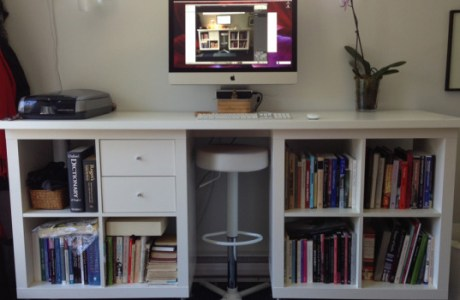 DIY IKEA EXPEDIT Standing Desk