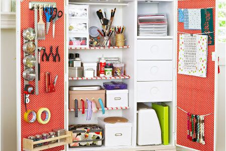 9 Ideas for Clever Craft Spaces