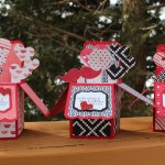 Hearts in a Box - Valentine's Day cards 2015