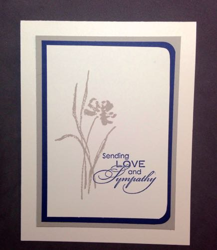 Love & Sympathy set by Stampin' Up!