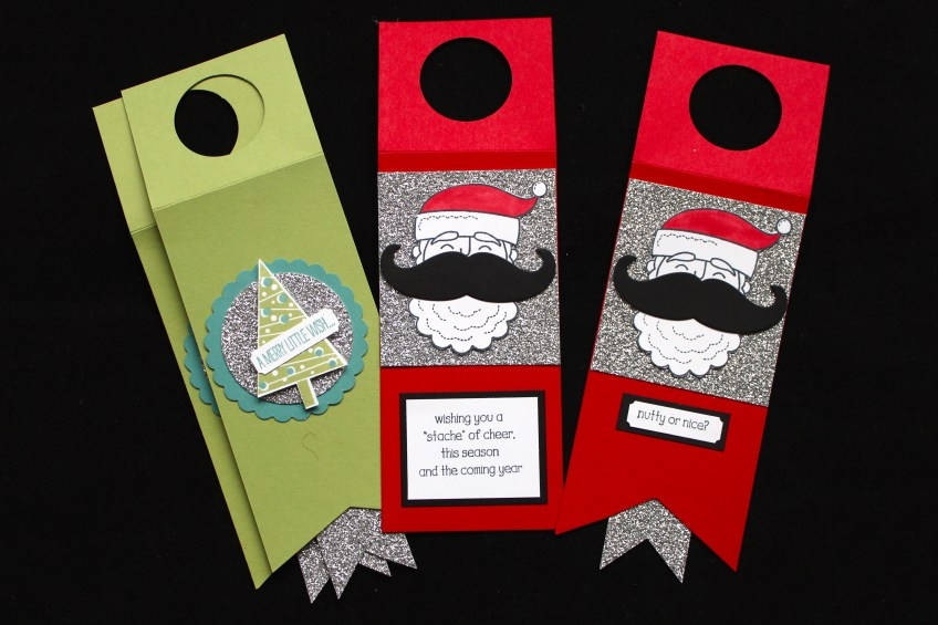 Wine Tags made by Scrappy Bags