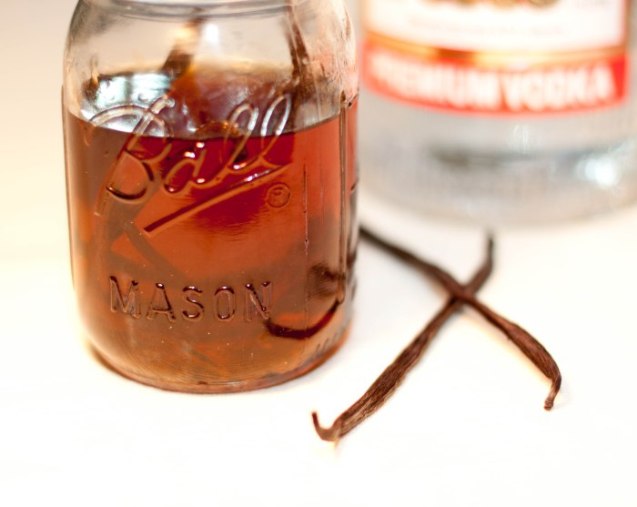 Vanilla Extract from scratch