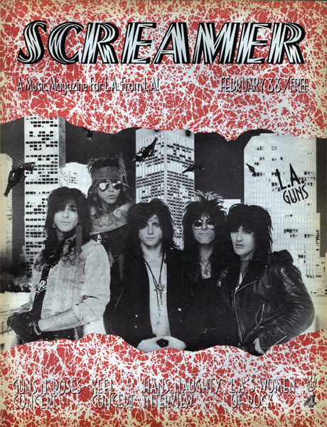 Screamer Magazine February 1988