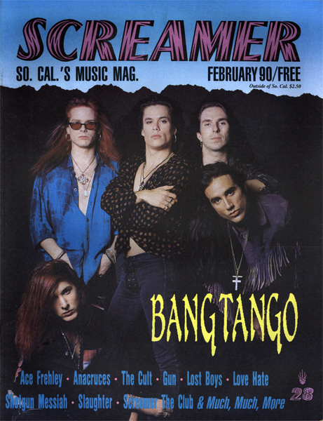 Screamer Magazine February 1990