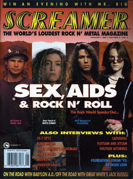 Screamer Magazine January 1993