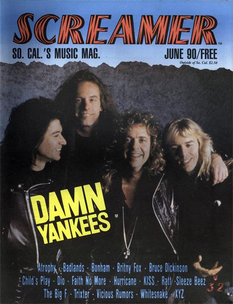 Screamer Magazine June 1990