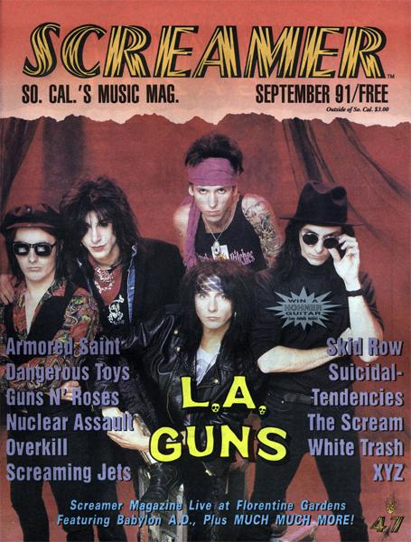 Screamer Magazine September 1991