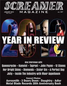 Screamer Magazine January 2013