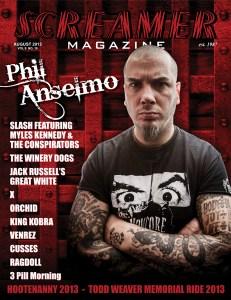 Screamer Magazine August 2013
