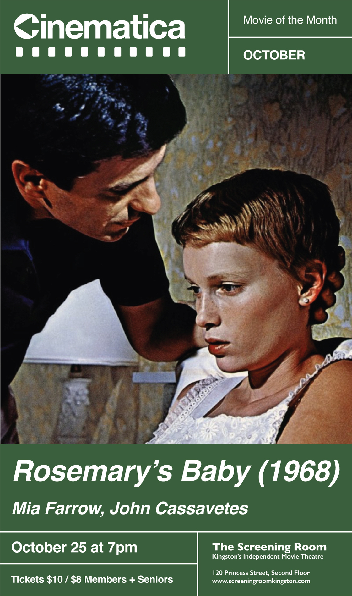 the elements of belief in the horror film rosemarys baby Rosemary's baby stands alone in the american new wave movement as a film that insinuates america's social upheaval rather than explicitly showing it to viewers, as seen in films such as the graduate (nichols, 1967) and medium cool (wexler, 1969.