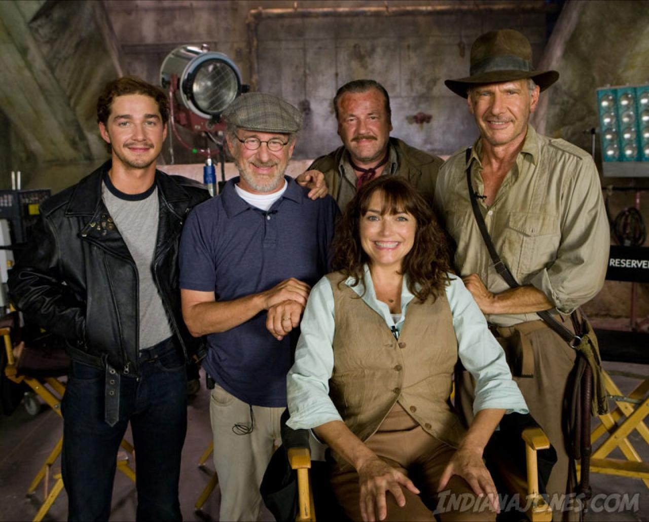 Indy 4 Crystal Skull Screentime