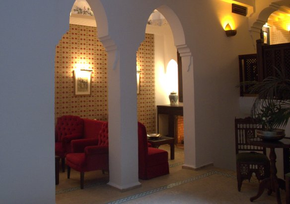 Hotel La Maison Blanche, Tangiers, Kasbah,, Morocco