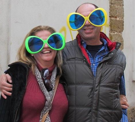 shades, sunglasses, outsize, Carnaval, Cadiz, Carnaval de Cadiz, family