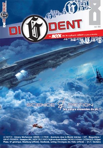 di6dent8 Di6dent numéro 8 : Science & Fiction, les sœurs ennemies du jdr ?