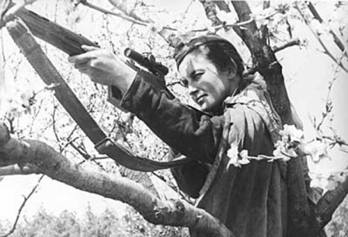 LES FEMMES SNIPERS RUSSES de la Seconde Guerre Mondiale