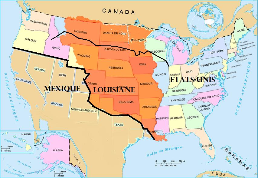 [Uchronie] Et si Napoléon n'avait pas vendu la Louisiane ?